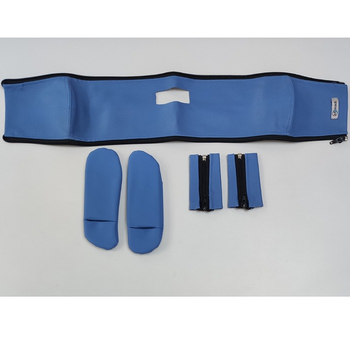 Protetor de cinto e barra carrinho Moodd - Azul