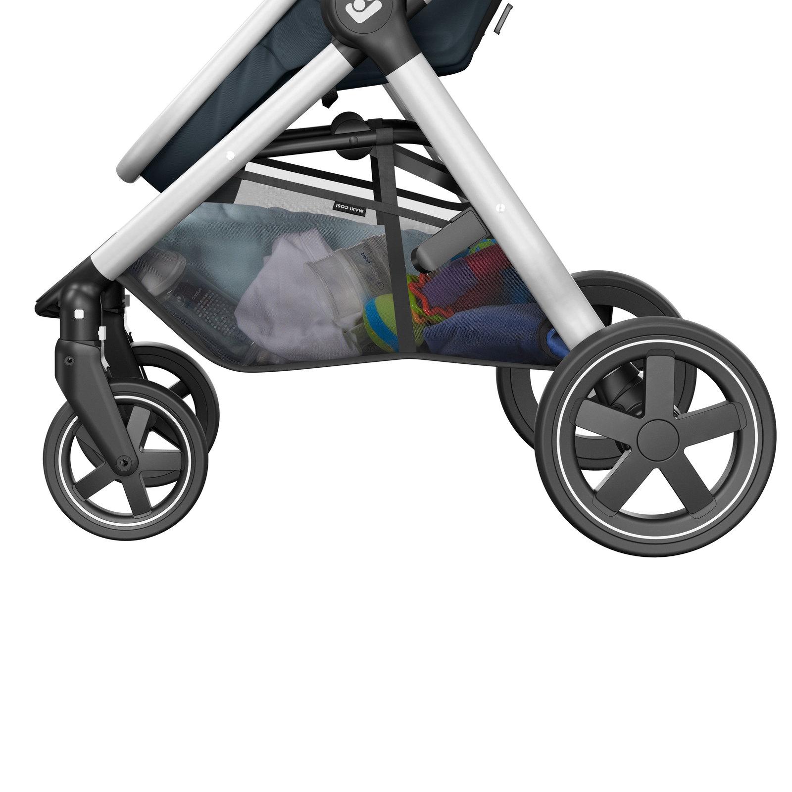 Travel System Anna² Com Bebe Conforto Isofix - Essestial Graphite - Maxi-Cosi