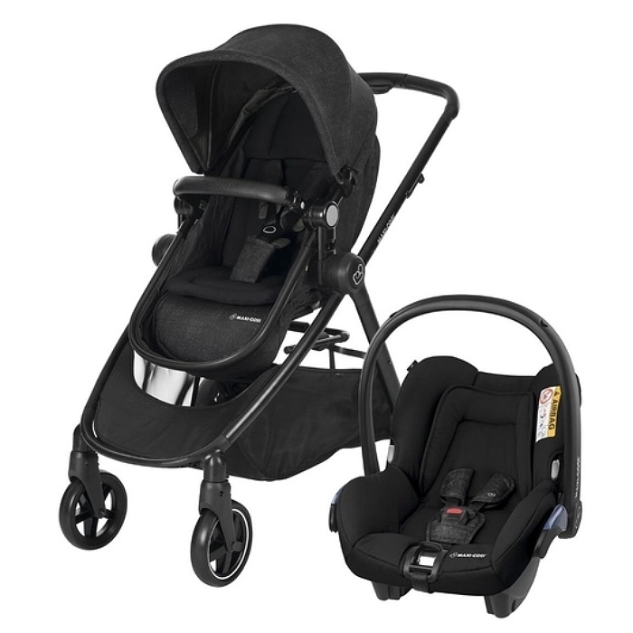 TRAVEL SYSTEM ANNA TRIO - ESSENTIAL BLACK - MAXI-COSI