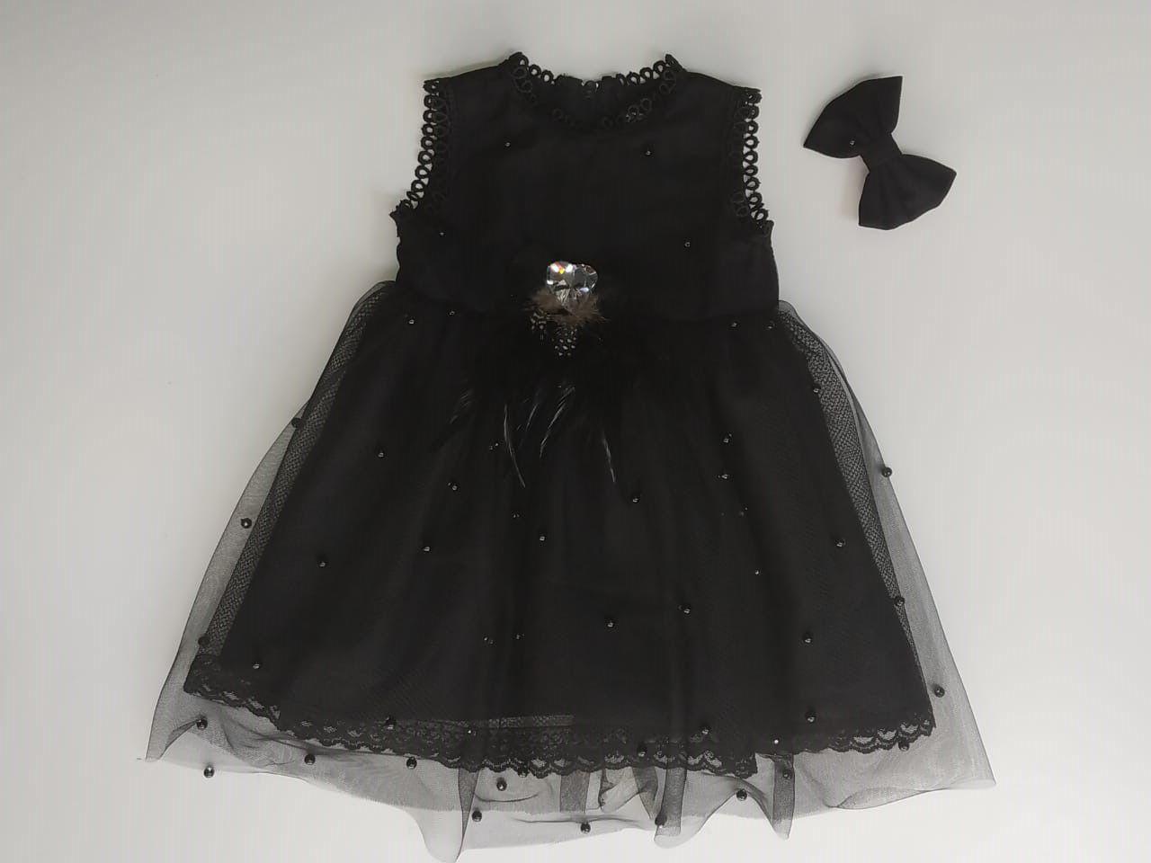 Vestido Claire Tule Preto