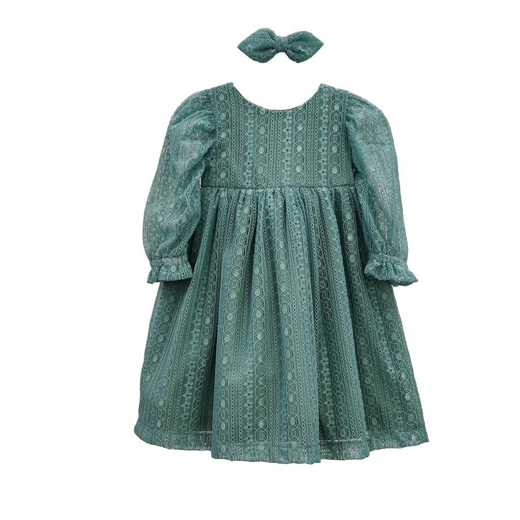 Vestido Clarice - Mangas Bufante