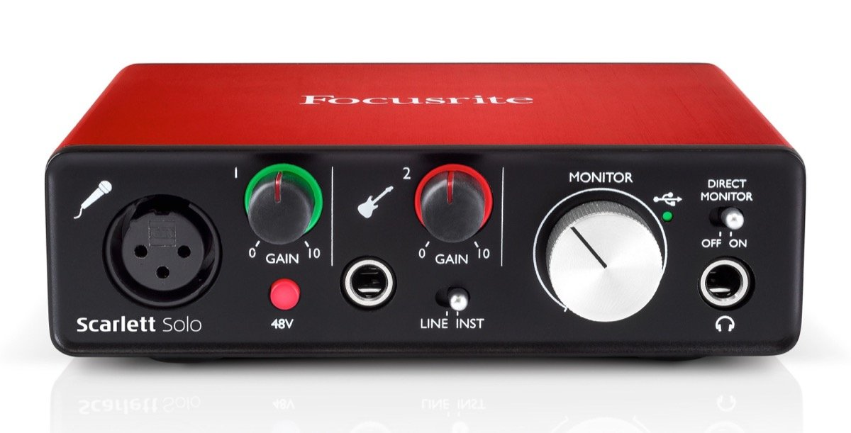 Interface Focusrite Scarlett Solo - 2nd Generation