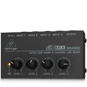 Mixer Compacto Behringer Micromix Mx400