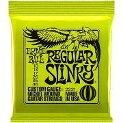 Encordoamento para Guitarra Ernie Ball Regular Skinny 010 - 046 2221