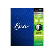 Encordoamento Guitarra Elixir Optiweb 010 046 Light 19052