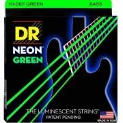 Encordoamento para Baixo 4 cordas DR Strings Neon Green 0.45