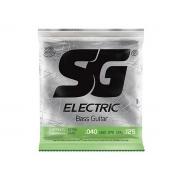 Encordoamento para Baixo 5 Cordas SG Strings Extra Light .040