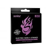 Encordoamento Solez para Contrabaixo 4 cordas .045 - SLB445