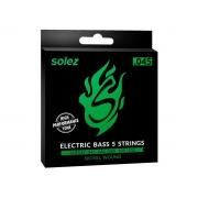 Encordoamento Solez para Contrabaixo 5 cordas .045 - SLB545