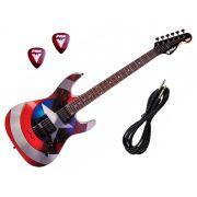 Guitarra PHX Marvel Homem Aranha ou Capitão América