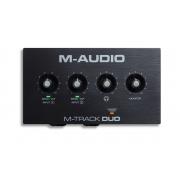 Interface de Áudio M-Audio M-Track Duo USB