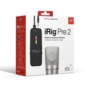iRig Pre 2 - Interface de Áudio para celular XLR
