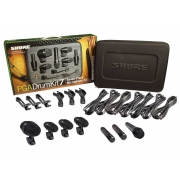 Kit de Microfones Shure PGA Drum Kit 7 para Bateria