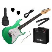 Kit Guitarra Tagima TG-520 Woodstock Stratocaster + Amp Sheldon GT1200