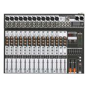 Mesa de Som Analógica 16 Canais Soundcraft SX1602FX-USB com Efeito