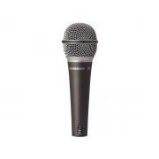 Microfone Dinâmico com Fio para uso Profissional Samson Q6