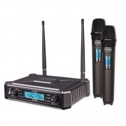 Microfone Tag Sem fio Transmissor UHF - TMJ-800