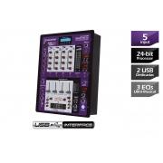 Mixer para Dj Waldman RDJ-5.2USB com Interface de Áudio