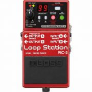 Pedal De Loop Boss Rc-3 Loop Station