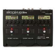 Pedaleira Zoom G3n para guitarra '