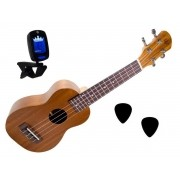 Ukulele Soprano Winner 21 Sapele Natural - 11021