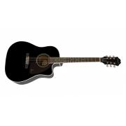 Violão Epiphone AJ-220 SCE Black 10030525 *