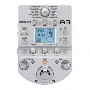 Zoom A3 - Pedaleira para violão, pré amp e efeitos. Fonte inclusa