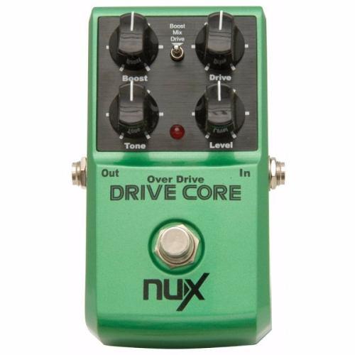 Pedal Nux Drive Core - Overdrive E Booster - Pronta Entrega!