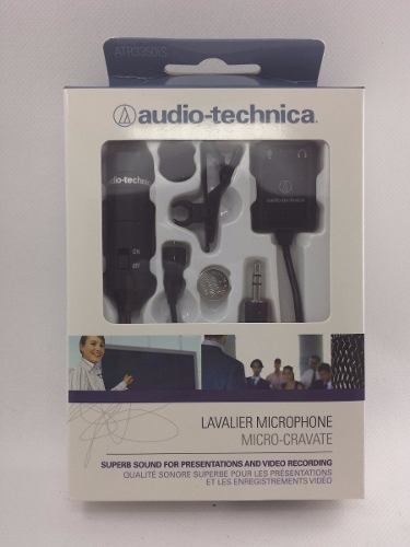 Microfone De Lapela Audio Technica Atr3350is - Smartphones