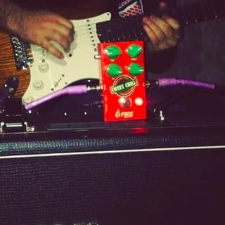Pedal Fire Sweet Chilli Overdrive