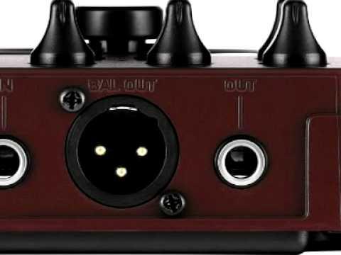 Pedal Behringer V-tone Acoustic Adi21 Direct Box DI