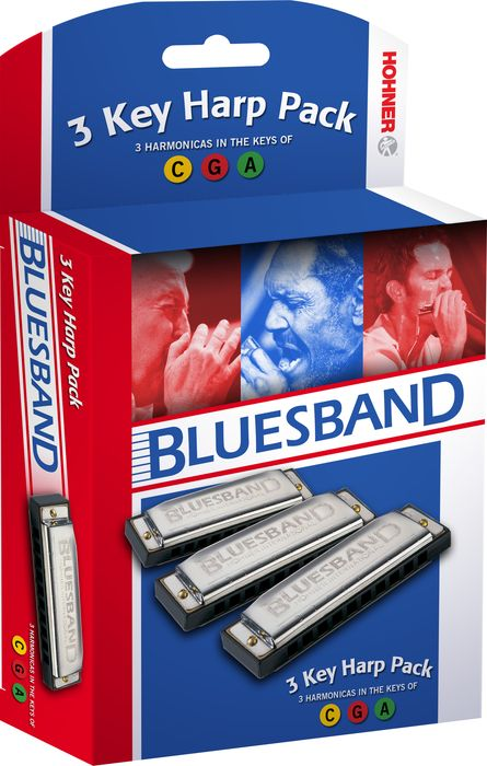 Hohner Blues Band - Kit de gaitas ( C, G, A)
