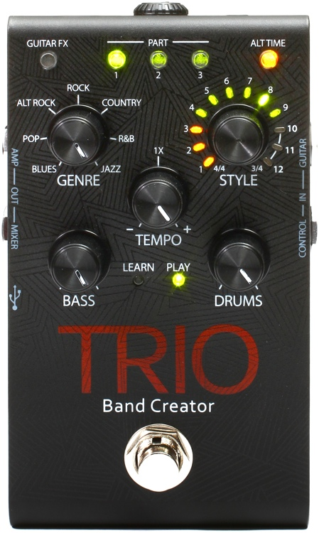 Pedal Digitech Trio Band Creator Loop - Com fonte