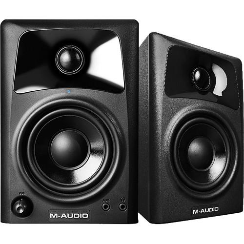 Caixa De Som M-audio AV32 Monitor Referência p/ Home Studio