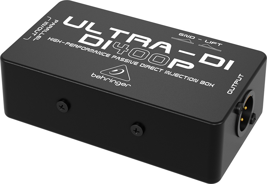 Direct Box Passivo Behringer Di400p Ultra
