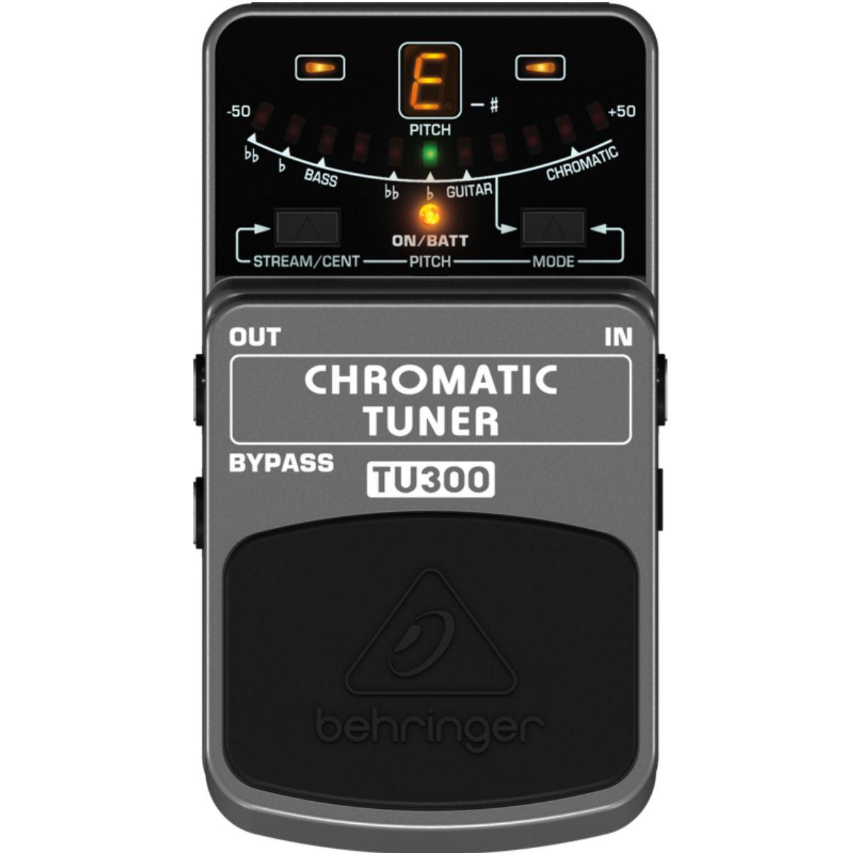 Pedal Afinador Behringer TU300 - Chromatic Tuner