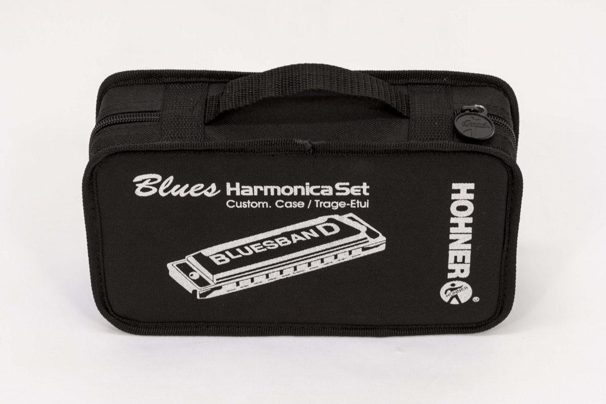 Kit de Gaitas Hohner Blues Band 7 Harmonicas Set - Com Estojo