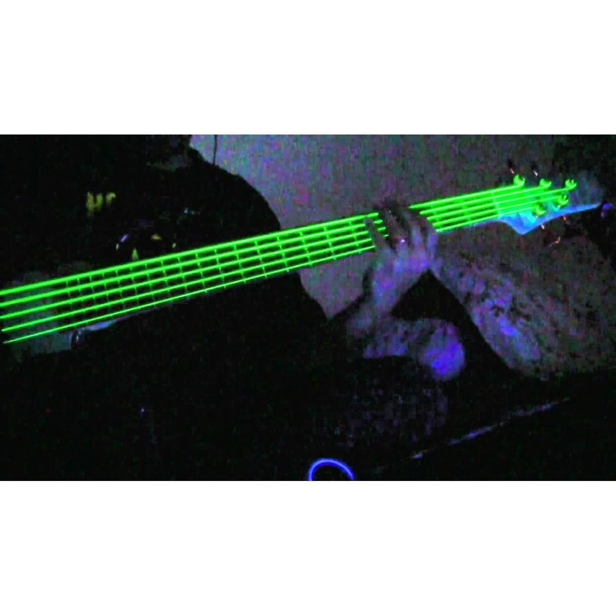 Encordoamento para Baixo 5 cordas DR Strings Neon Green 0.45