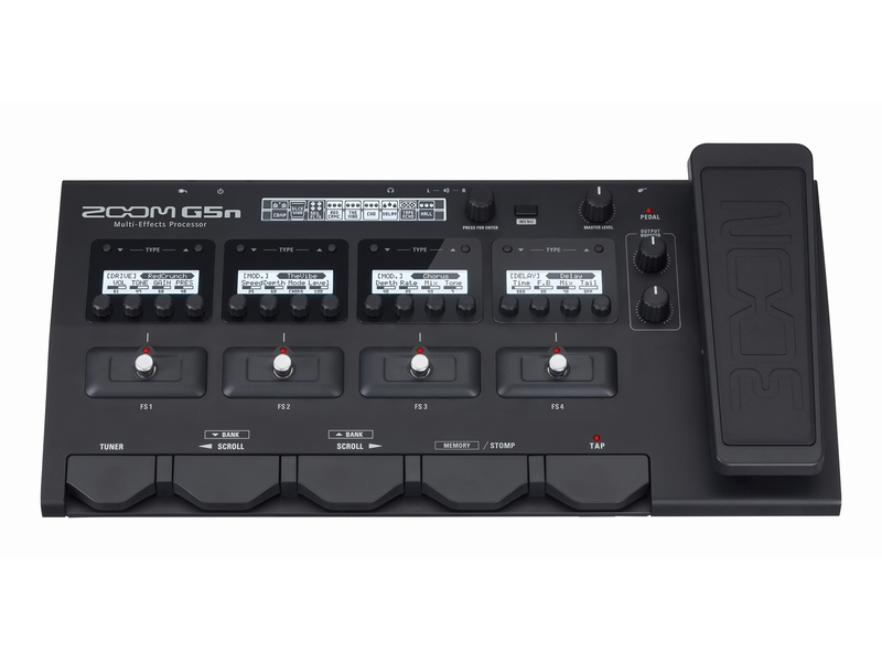 Pedaleira Zoom G5n - Fonte Inclusa