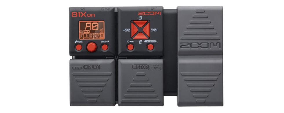 Pedaleira Zoom B1Xon - Multiefeitos para Baixo