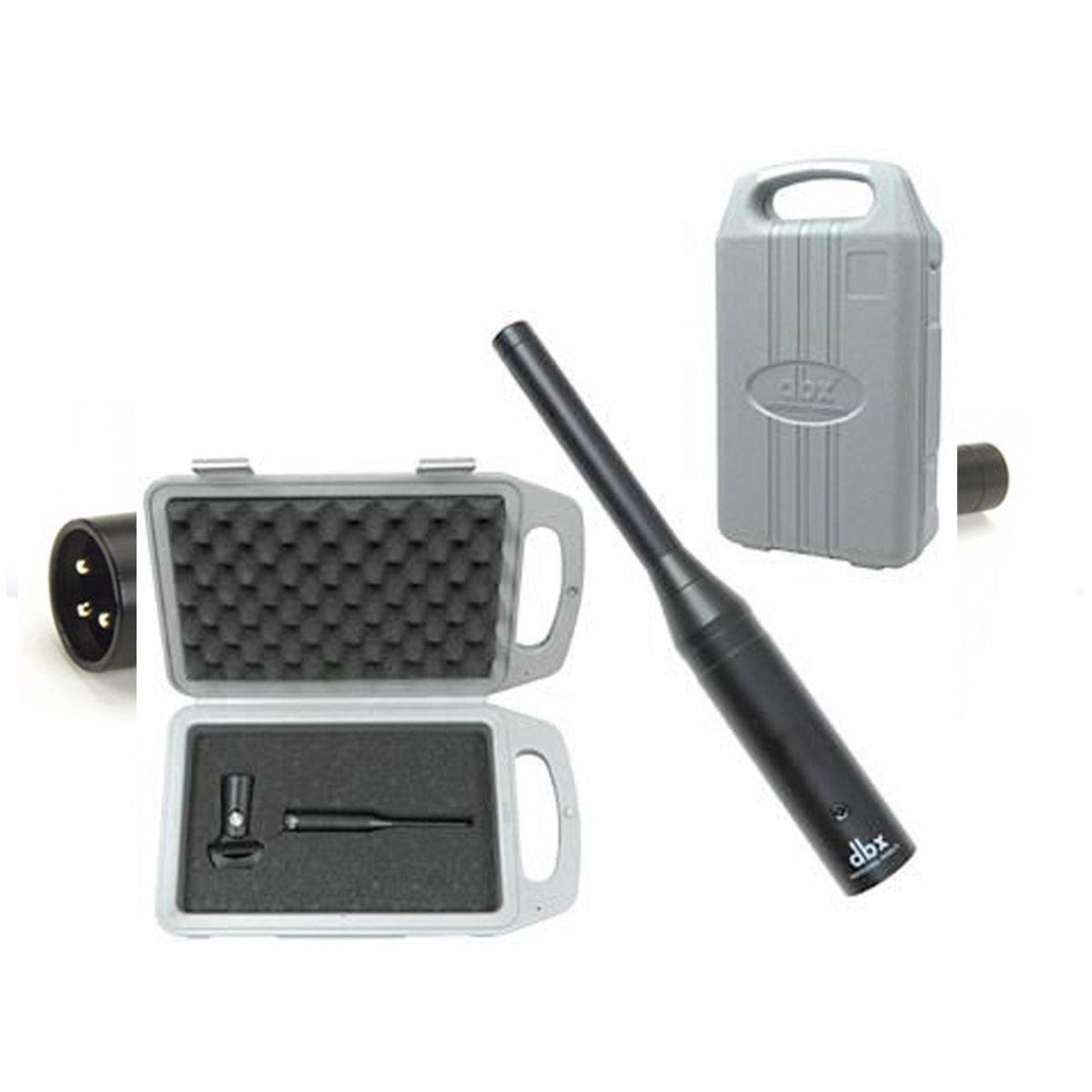 Microfone DBX RTA-M - Medição e Análise