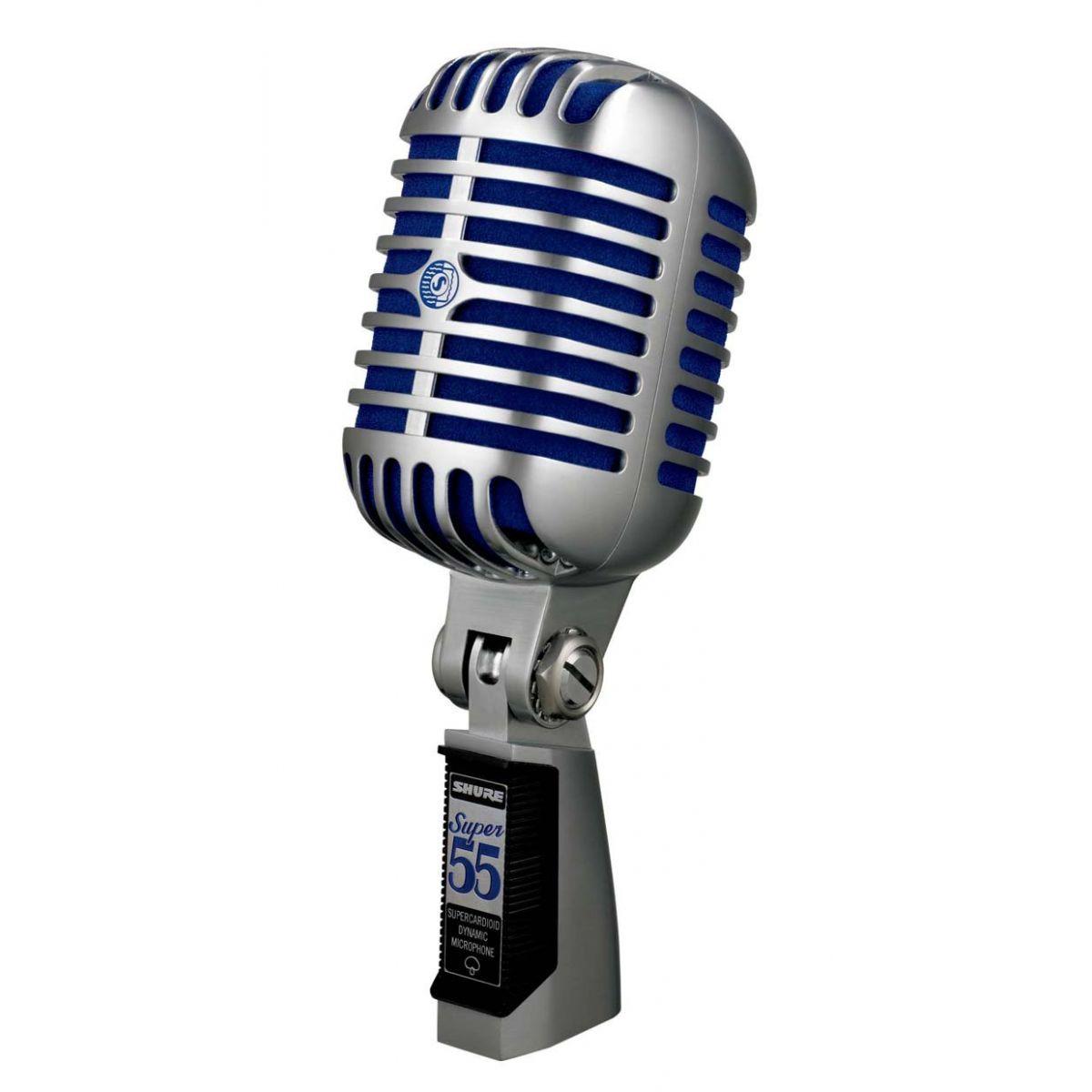Microfone Shure Super 55 Vintage