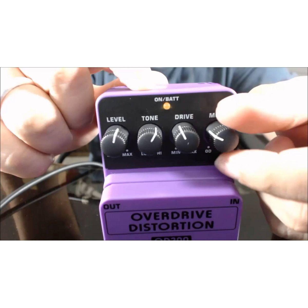 Behringer OD300 - Pedal Overdrive Distortion