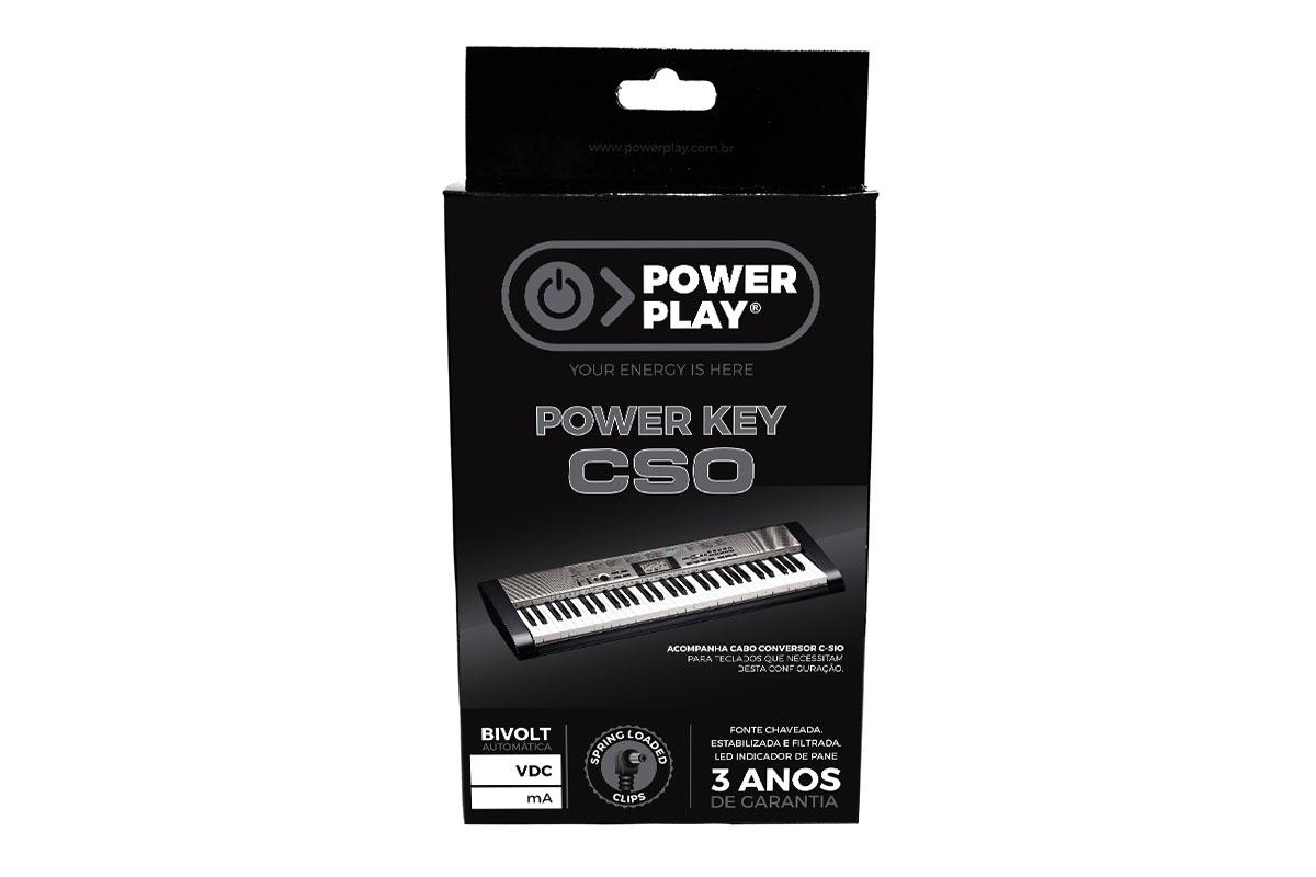 Fonte para teclado CASIO Power Play CSO