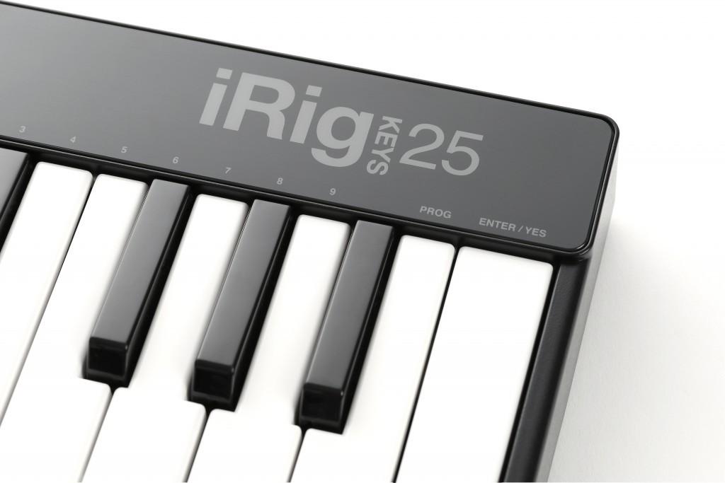 iRig Keys 25 USB - Teclado Controlador MIDI USB