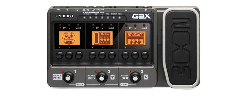 Pedaleira Zoom G3x - com fonte inclusa