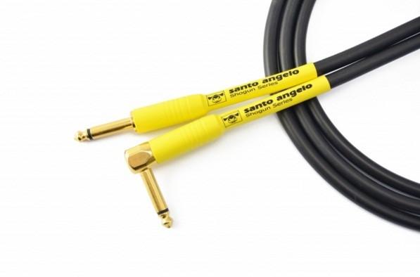 Cabo Santo Angelo Shogun Plug L 3m P/ Guitarra Baixo Violão