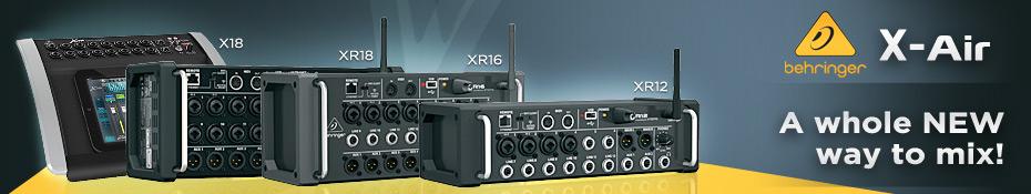 Mesa de Som Behringer X-Air XR12 WiFi