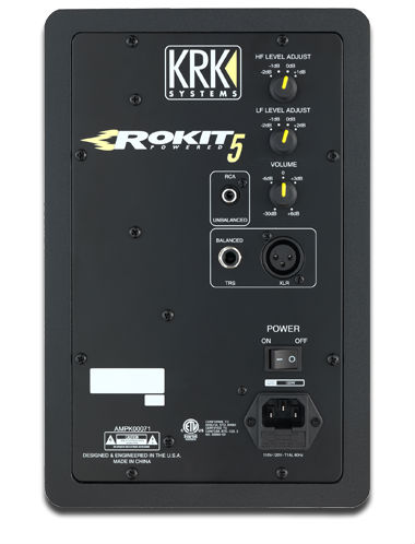 Monitor de referência KRK Rokit RP5 - 3a Geração - 110v - O PAR