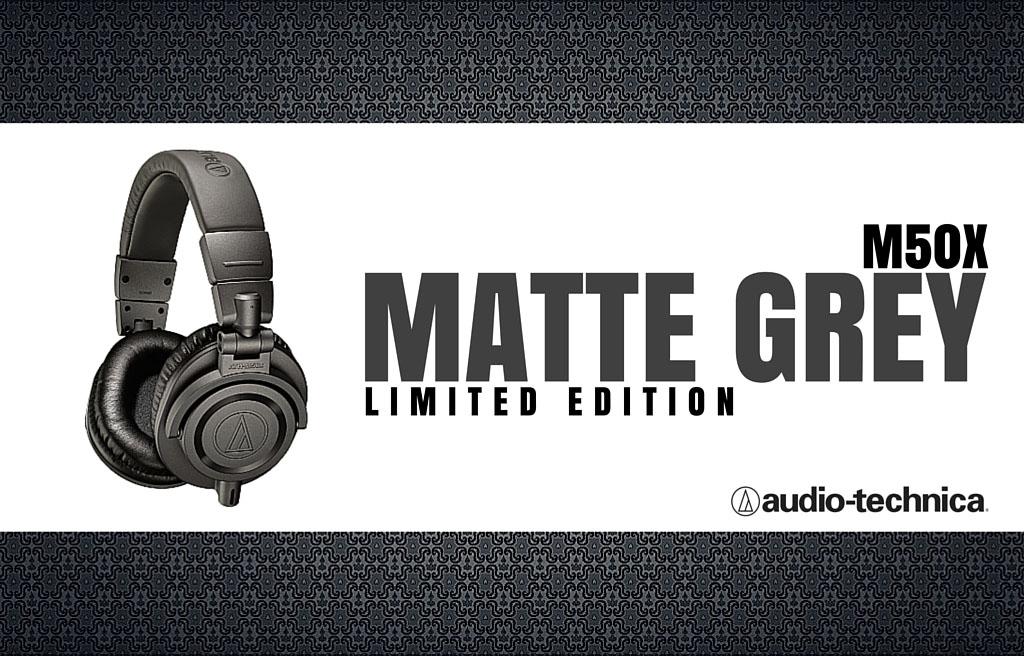 Fone Audio Technica Ath-M50x - Limited Edition - Matte Gray